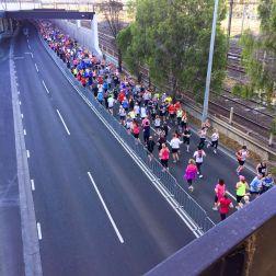 Other runners still going