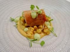 Crispy Rhug Estate Chicken with Sweetcorn & Tarragon