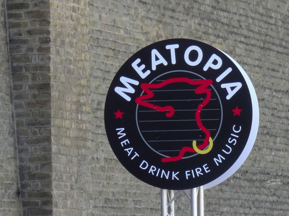 The New York Brass Band at Meatopia