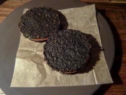 Chicken Livers, black Sesame & Apple
