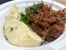 Seven Hour Confit Lamb, Mashed Potato from Tom's Kitchen