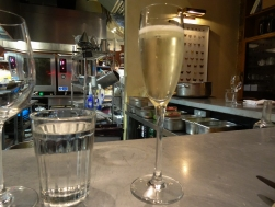 It will be rude not to start with some fizz