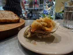 Deep Fried Oyster, Chilli, Ginger & Garlic