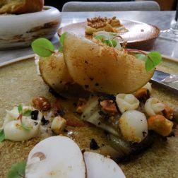 Celeriac, Pear, Mushrooms & Hazelnut