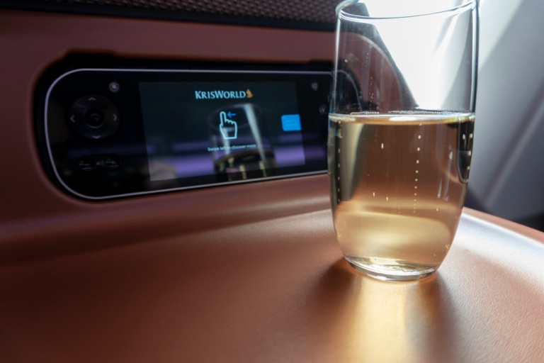 On Board - Business Class Champagne - Charles Heidseck