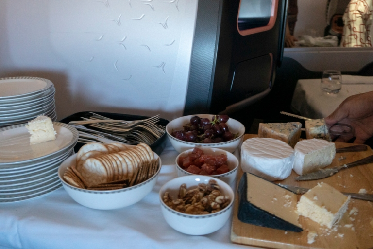 Singapore Air - Cheese Trolley